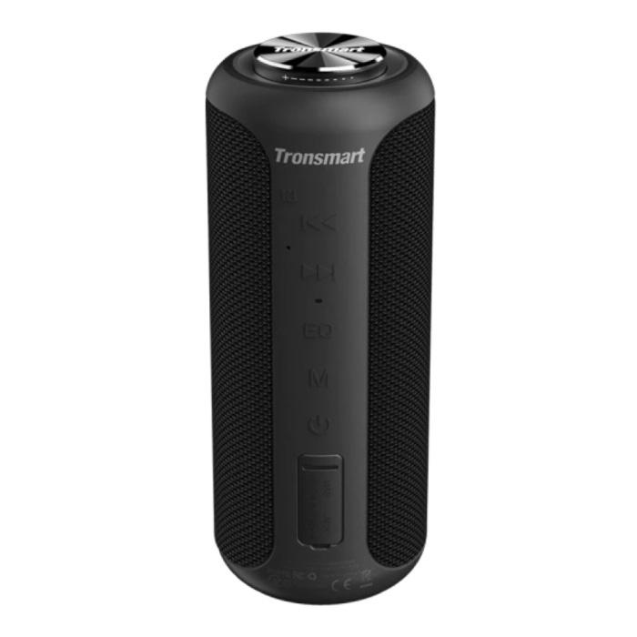 T6 Plus Bluetooth 5.0 Soundbox Haut-parleur sans fil Haut-parleur externe sans fil Noir
