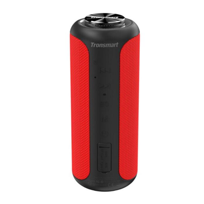 T6 Plus Bluetooth 5.0 Soundbox Haut-parleur sans fil Haut-parleur externe sans fil Rouge