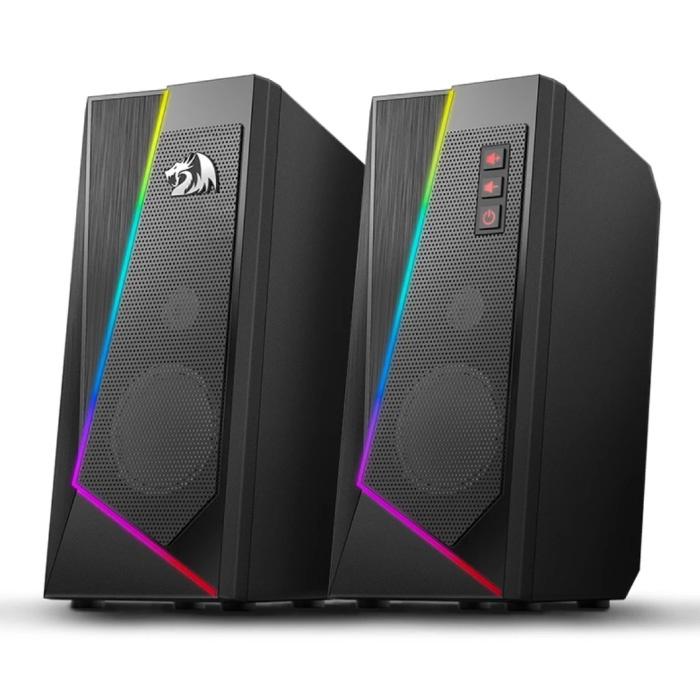 GS520 Anvil Home Stereo Luidsprekers - Speaker Soundbar Luidspreker Box Zwart