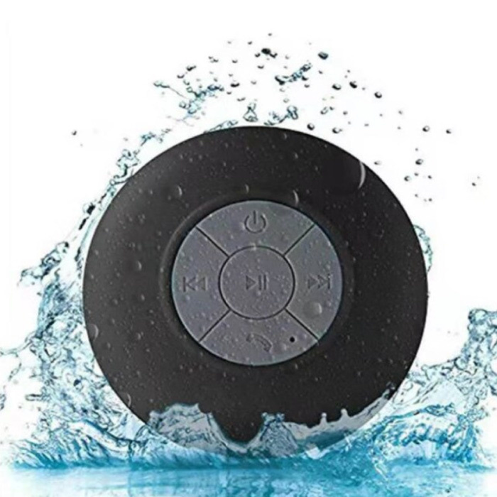 Waterdichte Bluetooth Luidspreker - Draadloos Soundbox Externe Wireless Speaker Zwart