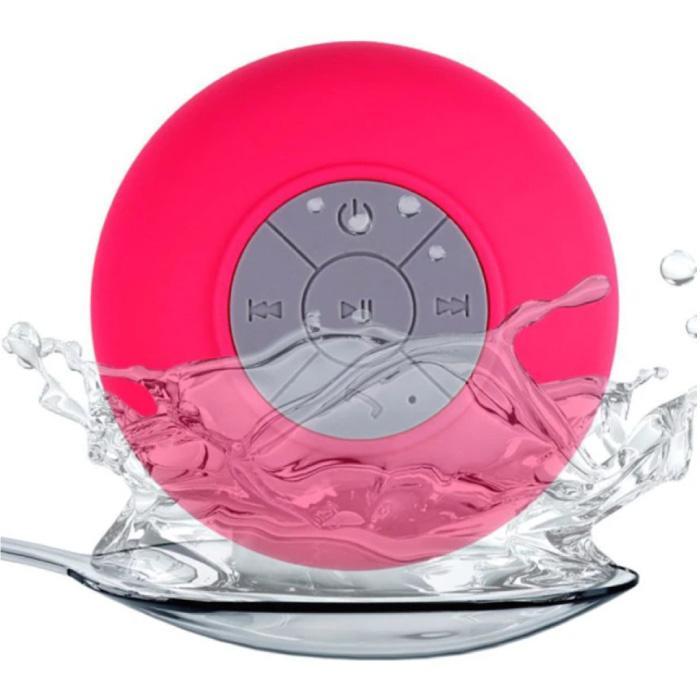 Waterdichte Bluetooth Luidspreker - Draadloos Soundbox Externe Wireless Speaker Roze