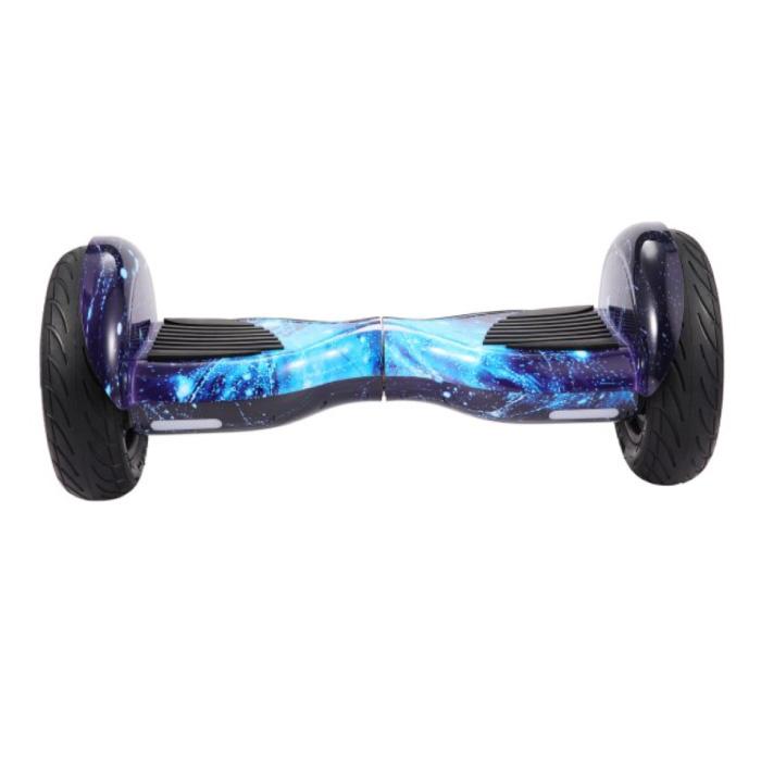 """Elektrisch E-Scooter Hoverboard - 10"""" - 350W - 2000mAh Batterij - Smart Balance Board Blauw"""