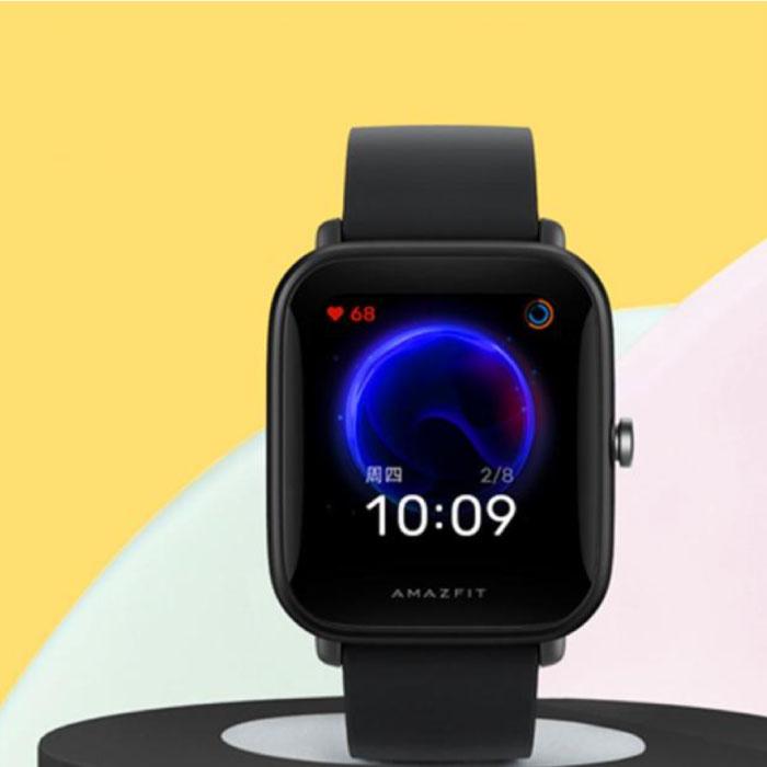 Bip U Smartwatch - Montre Fitness Sport Activity Tracker Silica Gel Watch iOS Android Noir