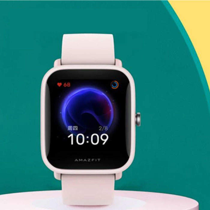 Bip U Smartwatch - Montre Fitness Sport Activity Tracker Gel de Silice iOS Android Rose