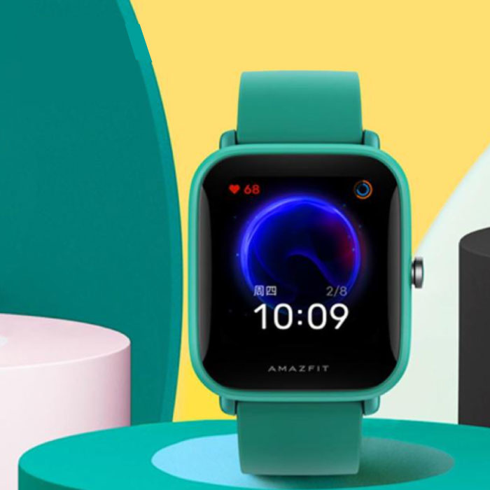 Bip U Smartwatch -  Fitness Sport Activity Tracker Silica Gel Horloge iOS Android Groen