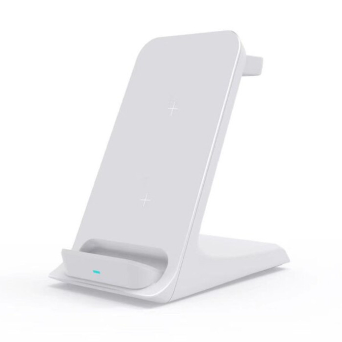 3 in 1 Charging Station - Compatible with Apple iPhone / iWatch / AirPods - Charging Dock 15W Wireless Pad White