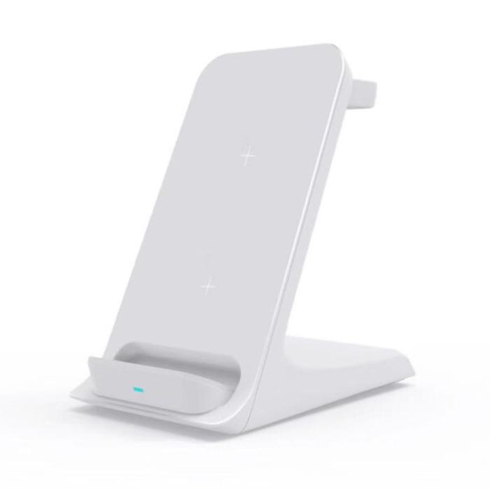 Station de charge 3 en 1 - Compatible avec Apple iPhone / iWatch / AirPods - Station de charge sans fil 15W Pad Blanc