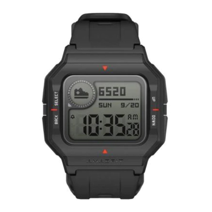 Neo Sport Horloge - Fitness Sport Activity Tracker Smartwatch Zwart
