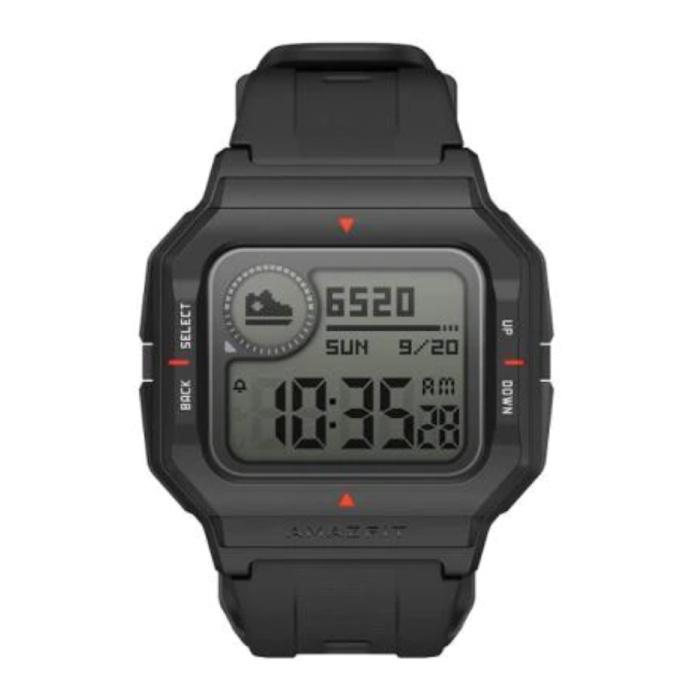 Neo Sport Watch - Montre connectée Fitness Sport Activity Tracker noir