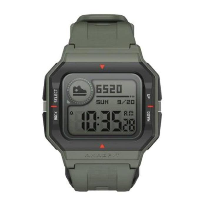Montre Neo Sport - Montre connectée Fitness Sport Activity Tracker Vert