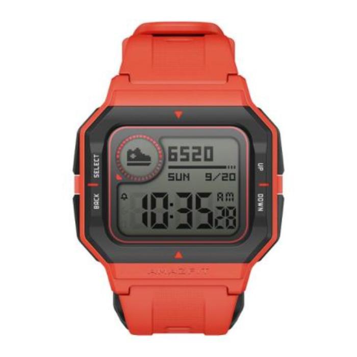 Neo Sport Watch - Montre connectée Fitness Sport Activity Tracker Orange