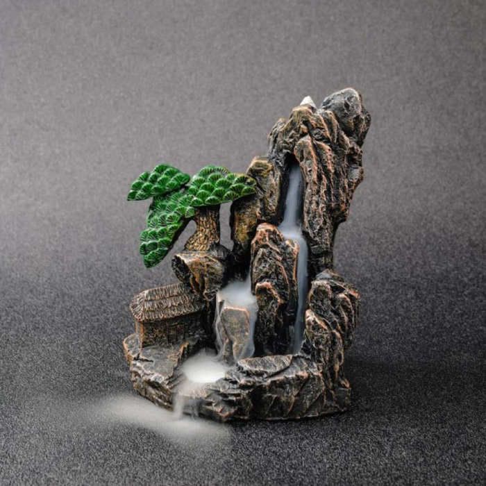 Aromatherapie Sier Wierookbrander Waterval Terugstromen - Backflow Incense Burner Feng Shui Decor Hars Ornament