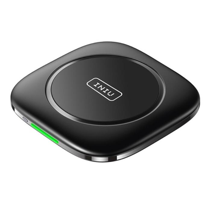 Station de charge 3 en 1 - Compatible avec Apple iPhone / iWatch / AirPods - Station de charge 15W Pad sans fil Noir