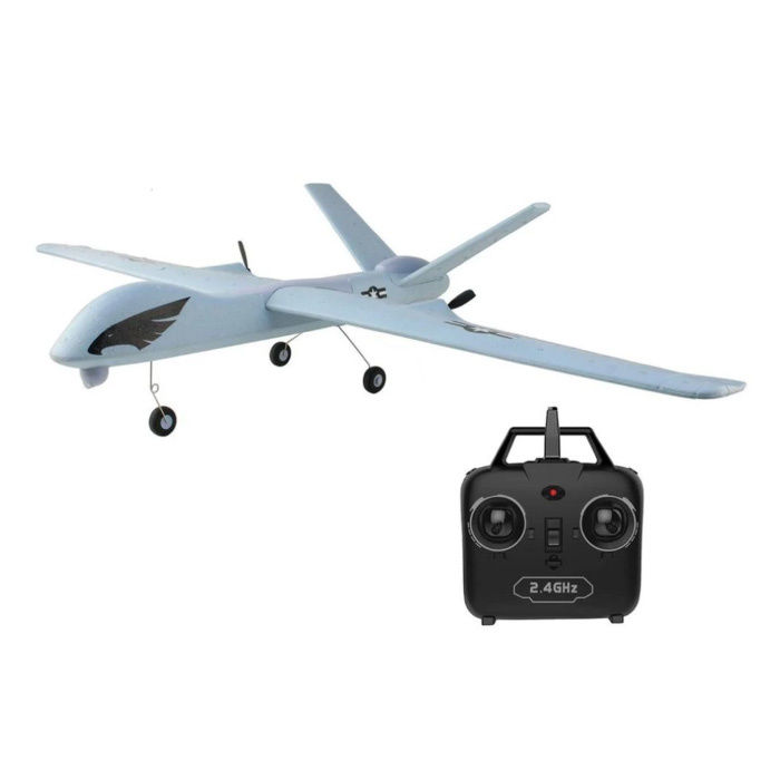 Z51 RC Airplane Glider with Remote Control - Steerable Toy Foldable
