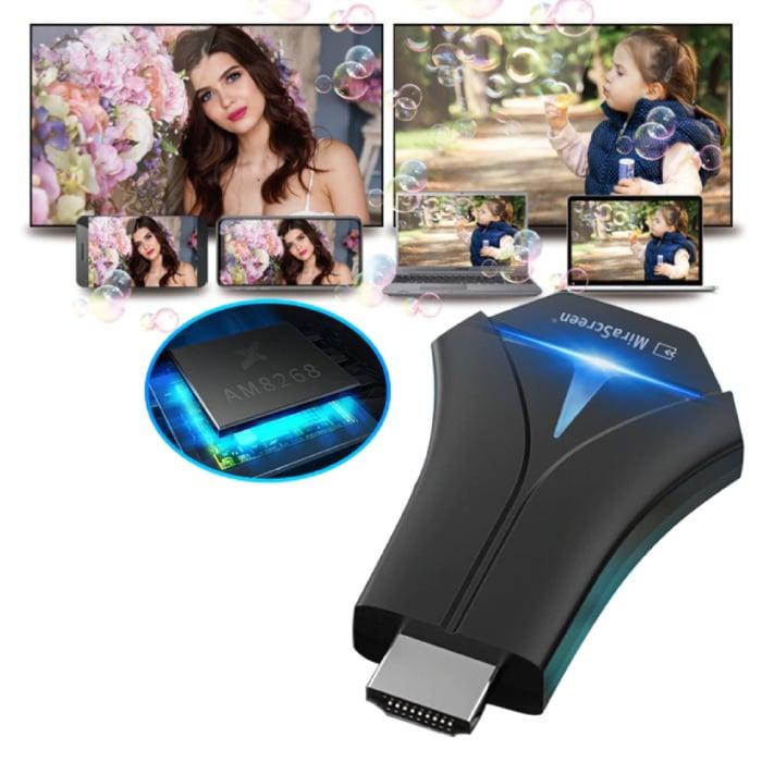 MiraScreen K12 Miracast TV Stick HD Cast HDMI 5G WiFi Receiver Scherm Ontvanger iPhone & Android