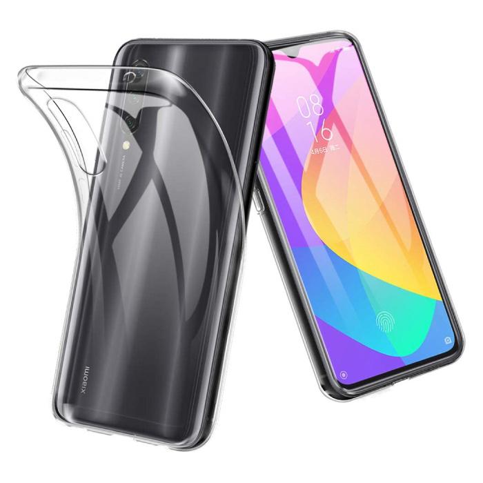 Xiaomi Mi A3 Lite Transparent Case - Clear Case Cover Silicone TPU