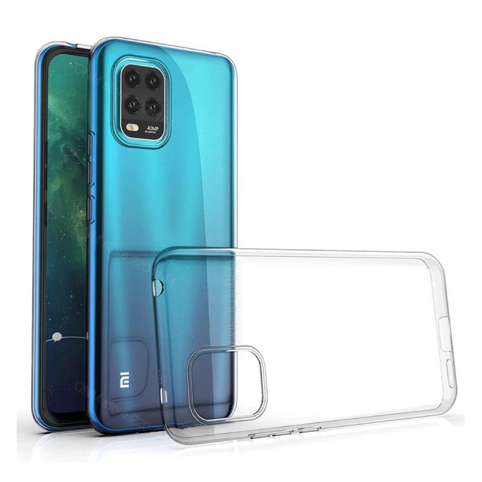 Xiaomi Mi 10 Lite Transparent Case - Clear Case Cover Silicone TPU