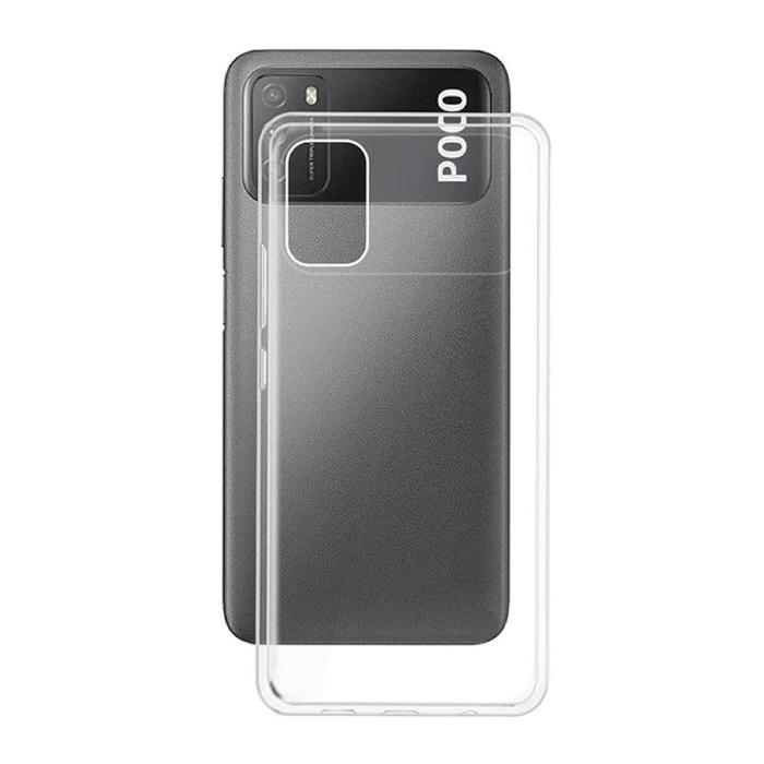 Xiaomi Poco M3 Transparent Case - Clear Case Cover Silicone TPU