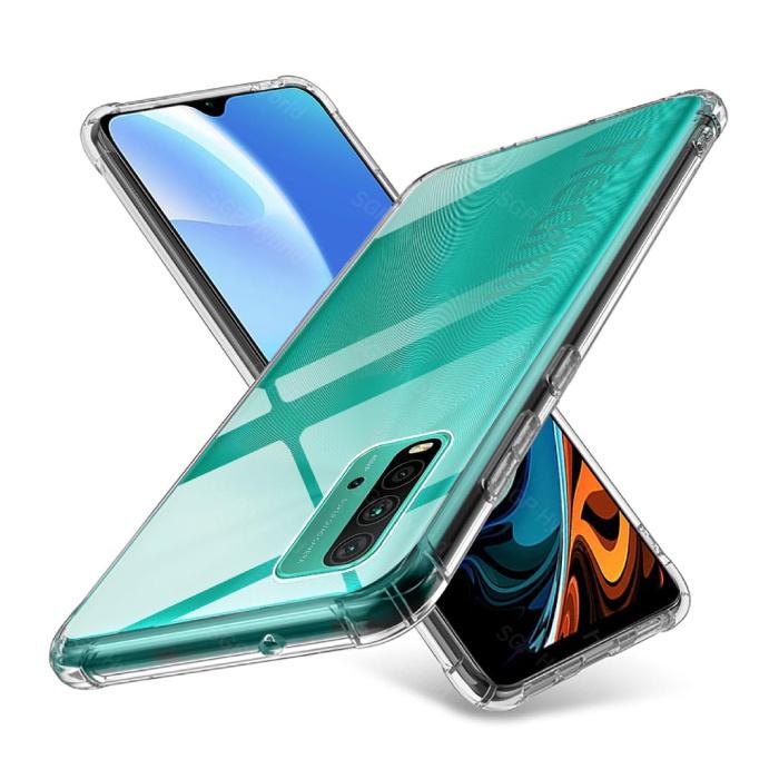 Coque Transparente Xiaomi Redmi 9T - Coque Transparente Silicone TPU