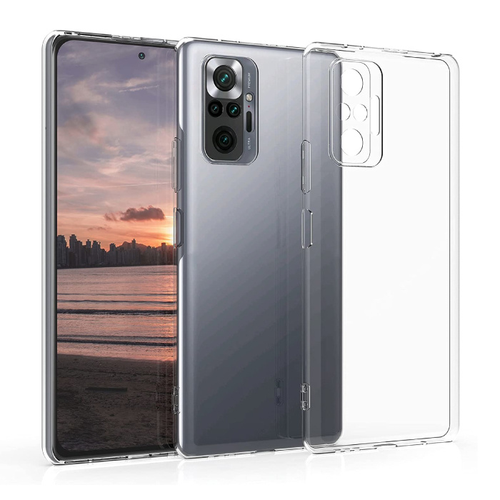 Xiaomi Redmi Note 10 Pro Transparant Hoesje - Clear Case Cover Silicone TPU