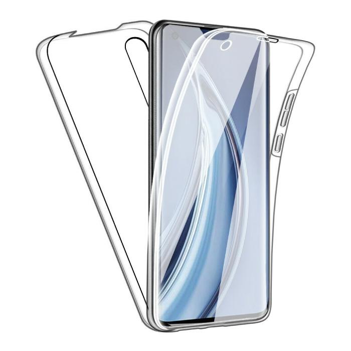 Xiaomi Mi A2 Lite Full Body 360° Case - Full Protection Transparent TPU Silicone Case + PET Screen Protector