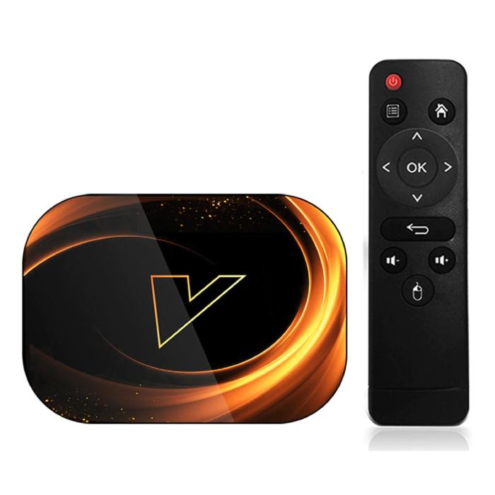 Lecteur multimédia X3 TV Box Android 9.0 Kodi - Bluetooth 4.0 - 8K - 4 Go de RAM - 128 Go de stockage