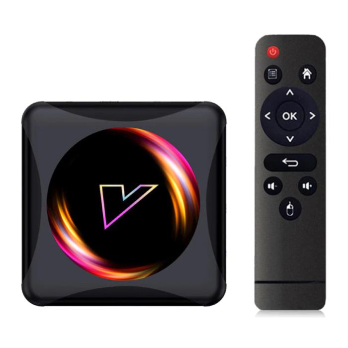 Lecteur multimédia Z5 TV Box Android 10.0 Kodi - 4K - 4 Go de RAM - 32 Go de stockage