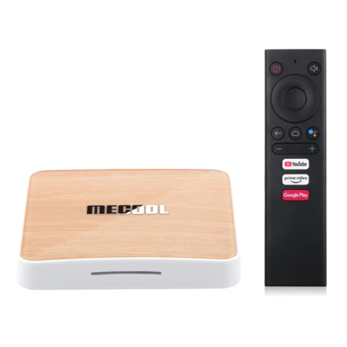 KM6 TV Box Media Player Android 10.0 Kodi - Bluetooth 5.0 - 4K HDR - 4GB RAM - 64GB Storage