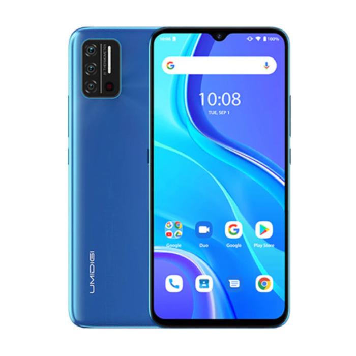 A7S Smartphone Sky Blue Unlocked SIM Free - 2 GB RAM - 32 GB Storage - 13MP Triple Camera - 4150mAh Battery - New Condition - 3 Year Warranty