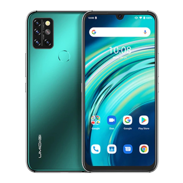 Smartphone A9S Pro Vert Forêt - Carte SIM Débloquée - 6 Go de RAM - 128 Go de Stockage - Quad Camera 48MP - Batterie 4150mAh - Neuf - Garantie 3 Ans
