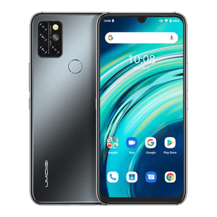 A9S Pro Smartphone Onyx Black - Unlocked SIM Free - 4 GB RAM - 64 GB Opslag - 32MP Quad Camera - 4150mAh Batterij - Nieuwstaat - 3 Jaar Garantie