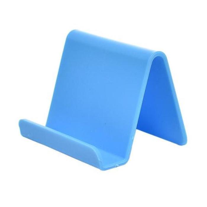 Support de téléphone universel Candy Desk Stand - Appel vidéo Support de smartphone Support de bureau Bleu