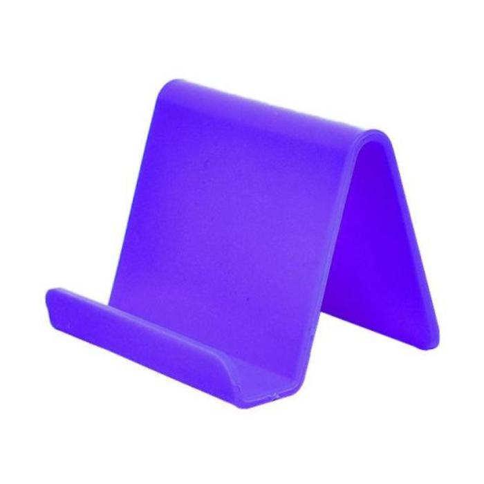 Support de téléphone universel Candy Desk Stand - Appel vidéo Support de smartphone Support de bureau Violet