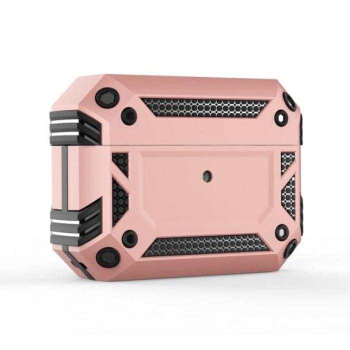 Étui antichoc pour AirPods Pro - AirPod Case PC TPU Cover Skin - Rose