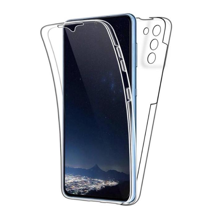 Coque Full Body 360° pour Samsung Galaxy S21 Plus - Coque Silicone TPU Transparente Protection Complète + Protecteur d'écran PET