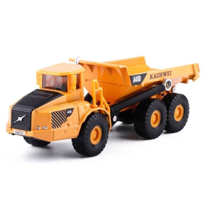 KAIDIWEI A400 Vrachtwagen Aanhangwagen Laadwagen - 1:87 Schaalmodel Die-Cast Dump Truck Vrachtwagen Speelgoed