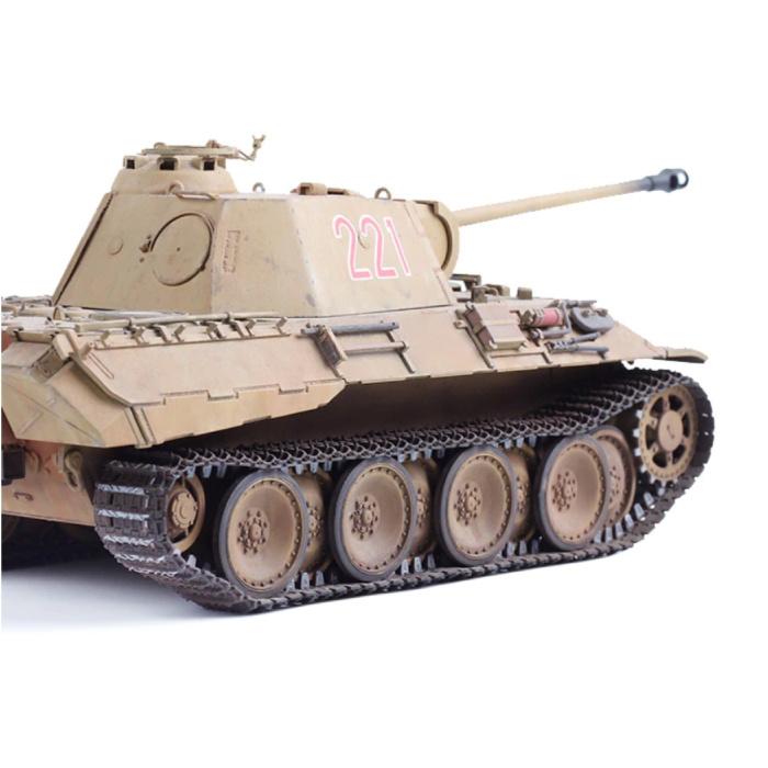 Kit de construction de char Panzer à l'échelle 1:35 - Panzerkampfwagen German Panther Army Model