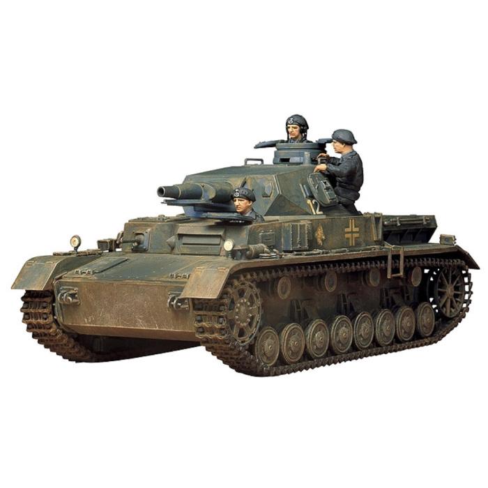 1:35 Scale Model Panzerkampfwagen IV Tank Construction Kit - German Panther Army Model