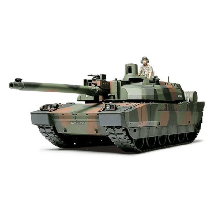 1:35 French Leclerc Tank Construction Kit - Army Plastic Hobby DIY Model 80110