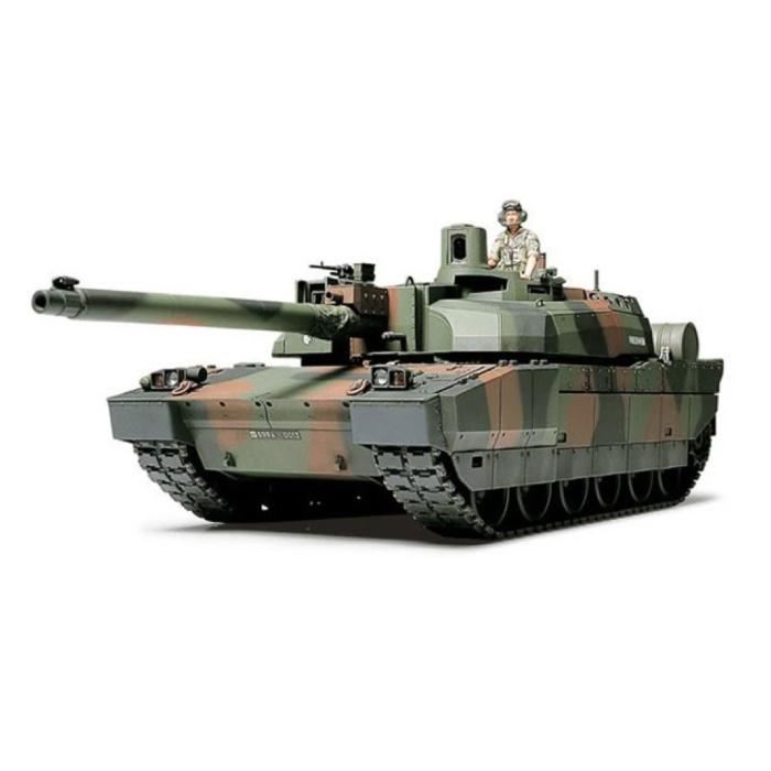 Kit de construction de chars français Leclerc à l'échelle 1:35 - Modèle de bricolage en plastique de l'armée 80110