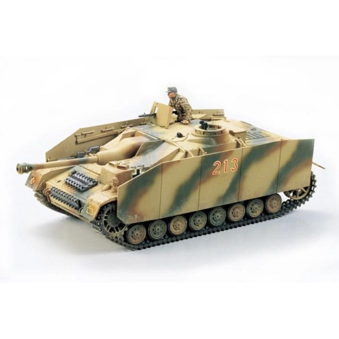 1:35 German Sturmgeschütz IV Tank Construction Kit - Army Plastic Hobby DIY Model 35087