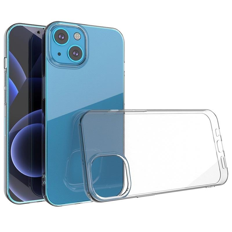 iPhone 13 Mini Transparent Clear Case Cover Silicone TPU Case