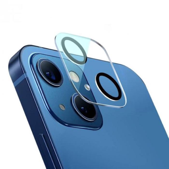 Pack de 3 étuis pour objectif d'appareil photo en verre trempé pour iPhone 13 Mini - Protection antichoc