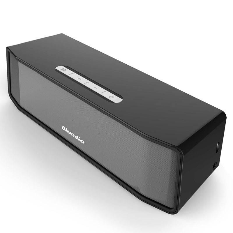 Boîte de haut-parleur sans fil Bluetooth d'origine Bluedio Camel BS-2 Bluetooth 4.1 noir