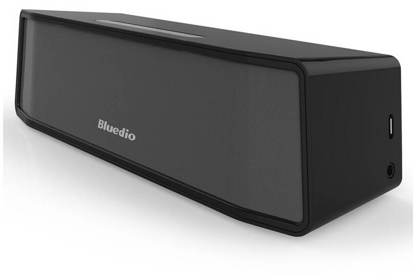Originele Bluedio Camel BS-2 Bluetooth Wireless Draadloze Speaker Luidspreker Box Bluetooth 4.1 Zwart