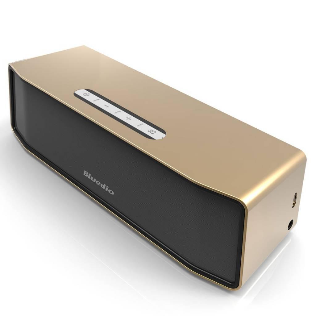 Bluedio Originele Bluedio Camel BS-2 Bluetooth Wireless Draadloze Speaker Luidspreker Box Bluetooth 4.1 Goud