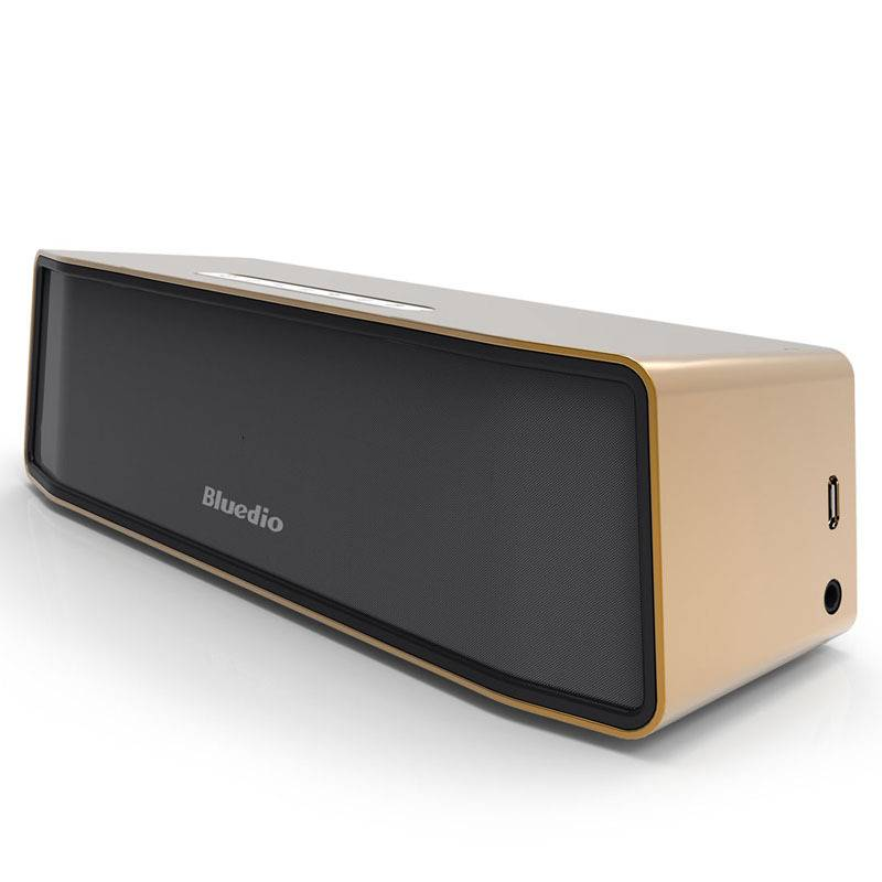 Camel Original Bluedio BS-2 Bluetooth Wireless Speaker Wireless Bluetooth Speaker Box 4.1 Gold