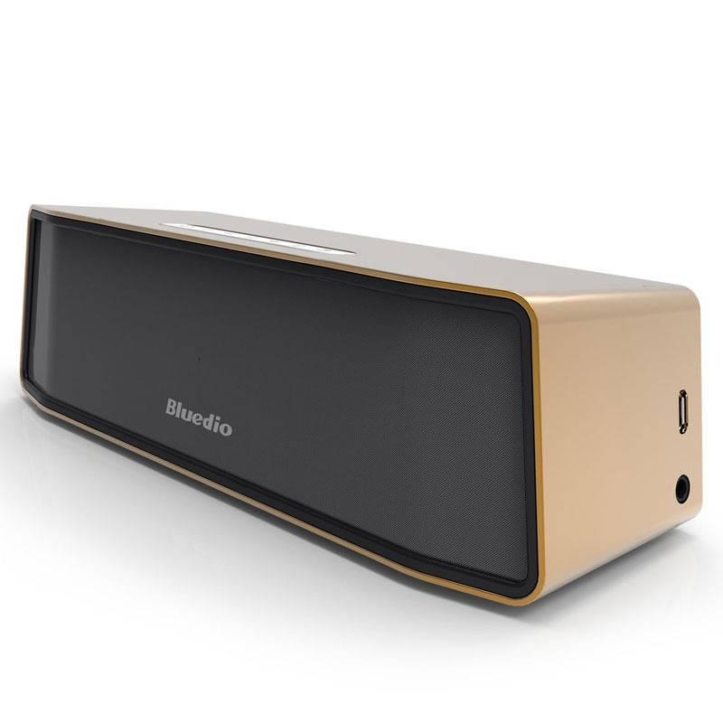 Camel originale bluedio BS-2 parleur sans fil Bluetooth sans fil Bluetooth Haut-parleur 4.1 Boîte d'or
