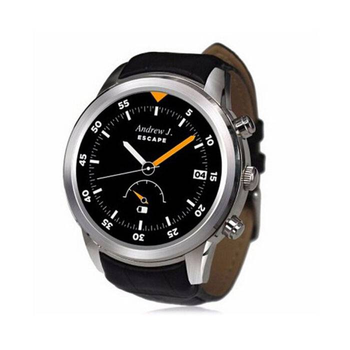 Original K18 Plus SmartWatch Android Smartphone Watch OLED Silver