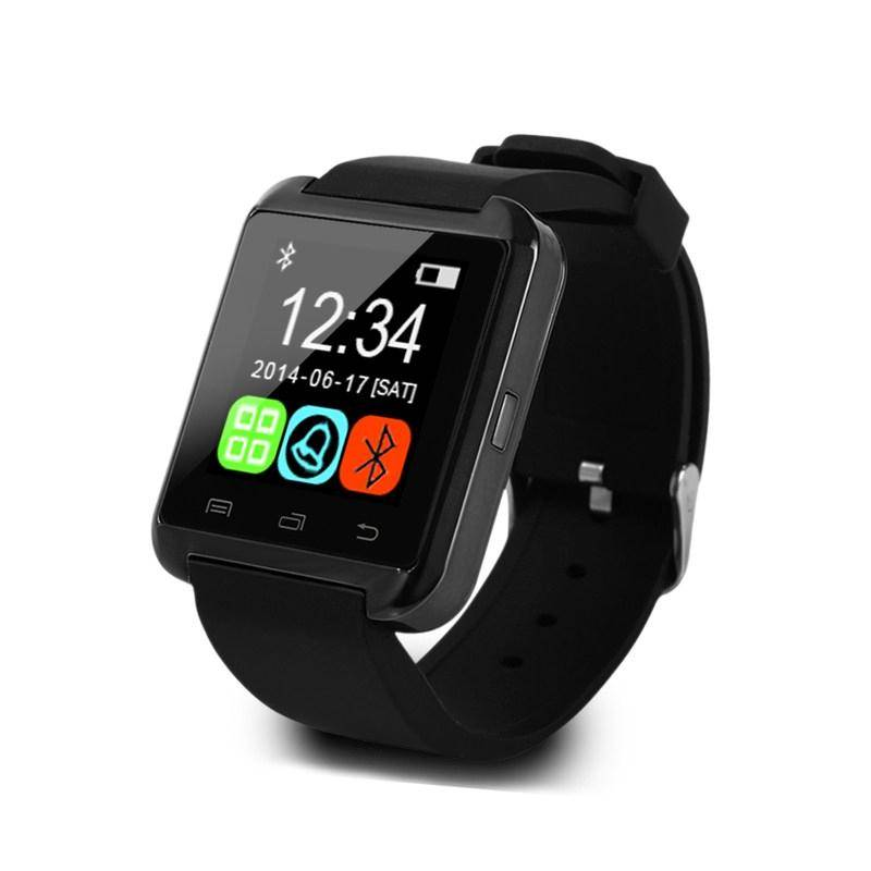 U80 originale SmartWatch Smartphone Fitness Sports Tracker activité Montre OLED Samsung Huawei Android iPhone Noir